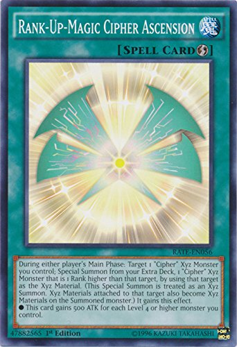 Yu-Gi-Oh! - Rank-Up-Magic Cipher Ascension - RATE-EN056 - Common - 1st Edition