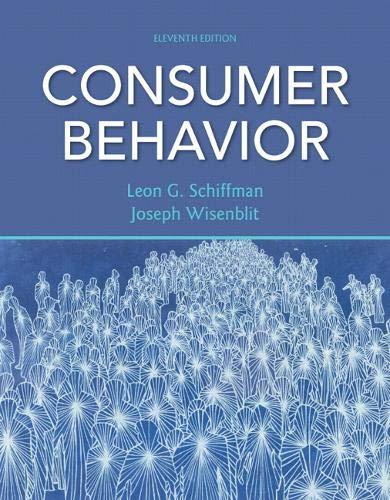 Best consumer behavior pearson for 2021