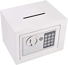 Safe Deposit Box Electronic Deposit Safe with Drop Slot Sticker Port Digital Keyboard Combination Lock Safe Cabinet Home O...