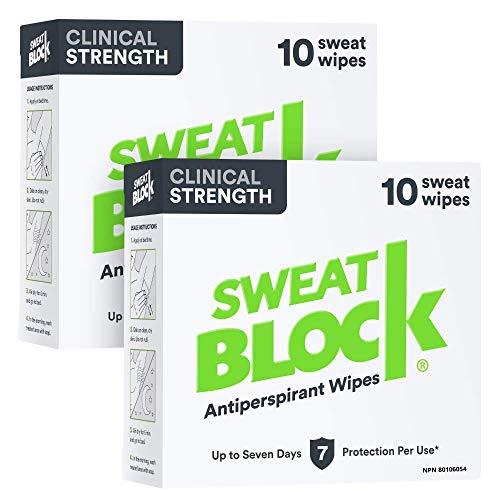 SweatBlock Force clinique (2 Box Deal) antisudorifique, 8 Count