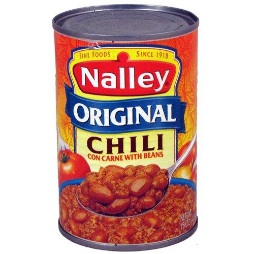 Nalley Chili w/ Beans Original - 15 oz (12 pack)