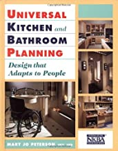 By Mary Jo Peterson - Universal Kitchen and Bathroom Planning: Design That Adapts to Pe (1998-06-16) [Hardcover]