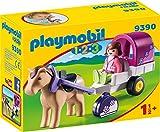 PLAYMOBIL- 1.2.3 Carruaje de Caballos Juguete, Multicolor (geobra...
