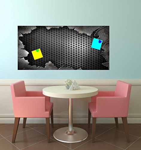 wodtke-werbetechnik magneetbord sticker geperforeerde plaat geschikt voor IKEA Spontan