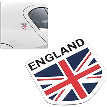 Silver Gb England Uk Flag Emblem Badge Decal Decor Sticker For Car Truck Auto Aluminium Alloy Sticker For Car Emblem Badgefor Car Aliexpress