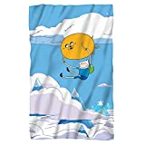 "Finn Balloon -- Adventure Time -- Fleece Throw Blanket (36"" x 58"")"