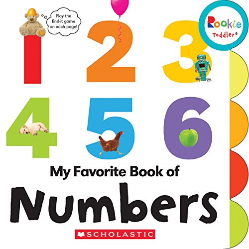 My Favorite Book of Numbers (Rookie Toddler)