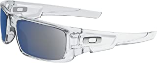 نظارة شمسية اوكلي كرانك شافت للرجال (شفاف-ايس IRID)