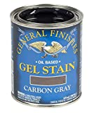 General Finishes Oil Base Gel Stain, 1 Pint, Carbon Gray