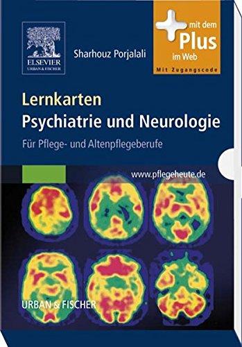Lernkarten Psychiatrie und Neurologie: für Pflege- und Altenpflegeberufe - mit Zugang zu pflegeheute.de