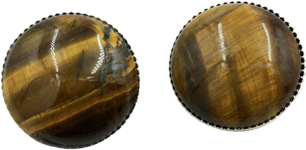 Jewelry58718 Fashion New Zealand Abalone Shell Round Clip Earrings