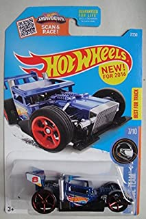 HOT WHEELS RACE TEAM 7/10, BLUE BONE SPEEDER 7/250 SHOWDOWN SCAN & RACE