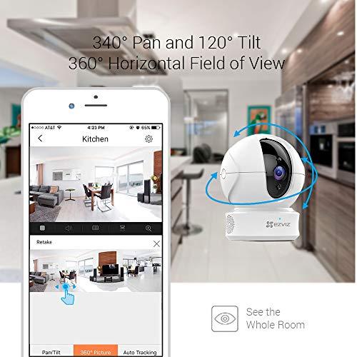 Caméra EZVIZ C6C 1080p surveillance WIFI 4