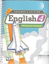 English 4 Writing and Grammar, Teacher's Edition