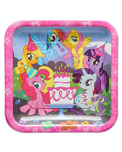 American Greetings My Little Pony Paper Dinner Plates for Kids (40-Count)