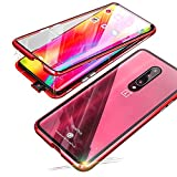 TENGMAO For oneplus 7 pro Magnetic Case,Slim Clear Case