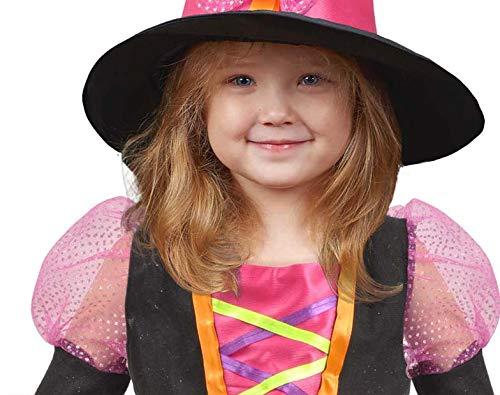 Ciao-Streghetta Costume Bambina (Taglia 3-4 Anni), Multicolore, 28041.3-4