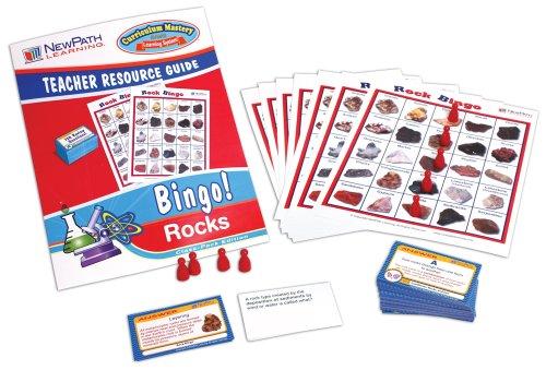NewPath Learning Rock Bingo Game, Grade 5-9
