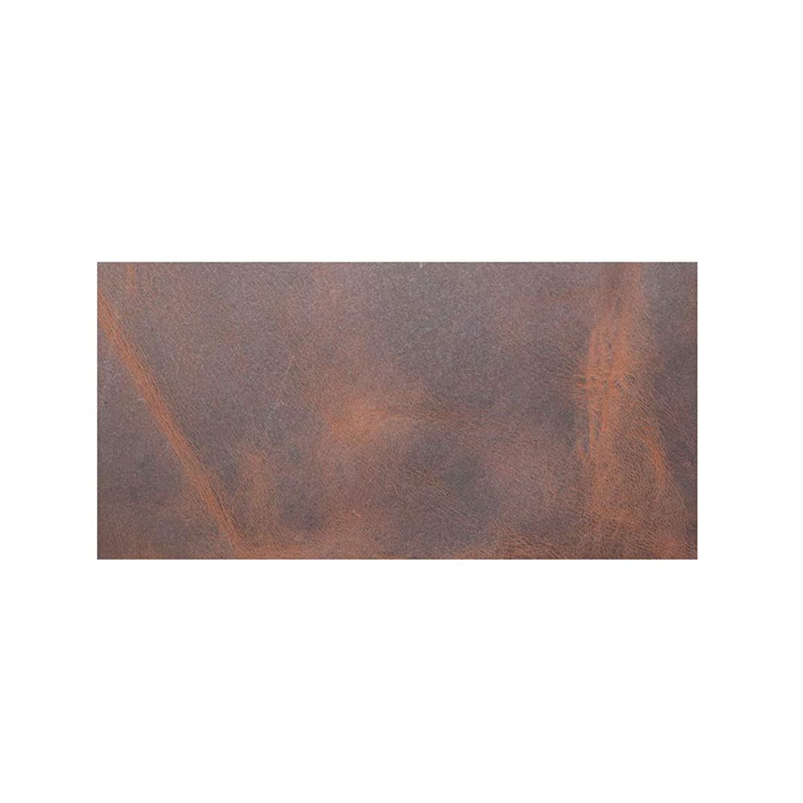 Hide & Drink, Rustic Leather Rectangles (3