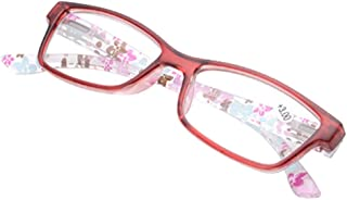 Aiweijia Men and Women Reading Glasses Watching Newspaper Plastic Frame Glasses