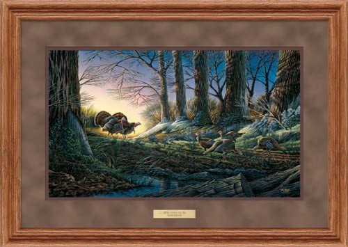 Wild Wings Strutting On New products Product world's highest quality popular in - Turkeys Print Encore Terr Framed by