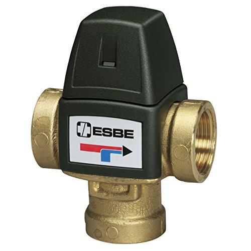 Esbe; Válvula mezcladora termostática para calefacción y ACS, serie VTA 320 (más opciones click: aquí) campo de regulación de 35 a 60ºC, con roscas 1/2