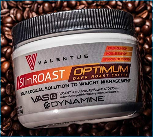 Compatible with: VALENTUS SlimRoast Optimum Coffee Plan 30-Day - Fast 30 Day Ultra Potent Weight Loss Program - Valentus Energy Booster & Fat Burners - Appetite Suppressant and Metabolism Accelerator