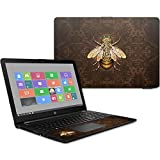 MightySkins Skin Compatible with HP 15t Laptop 15.6' (2017) - Steampunk Bee | Protective, Durable, and Unique Vinyl Decal wrap Cover | Easy to Apply, Remove, and Change Styles | Made in The USA