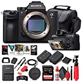 Sony Alpha a7R III Mirrorless Digital Camera (Body Only) ILCE7RM3/B + 64GB Memory Card + NP-FZ-100 Battery + Corel Photo Software + Case + External Charger + Card Reader + HDMI Cable + More (Renewed)