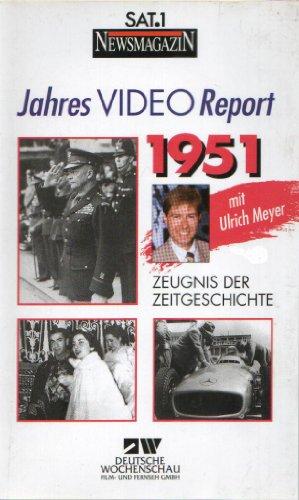 JAHRES VIDEO REPORT 1951 - Zeugnis der Zeitgeschichte - Deutsche Wochenschau