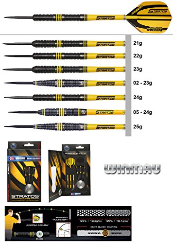 WINMAU Darts Stratos Tungsten Steeldarts
