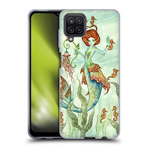 Head Case Designs Licenciado Oficialmente Amy Brown Guardián del Caballo Hadas Elementales Carcasa de Gel de Silicona Compatible con Samsung Galaxy A12 (2020)