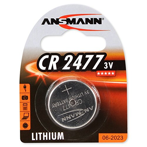 4er Set: ANSMANN 1516-0010 Knofpzelle Batterie Lithium CR 2477-3V