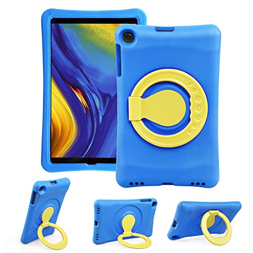NEWSTYLE Kids Case for Samsung Galaxy Tab A 10.1 Inch 2019, Rotating Shockproof Kids Cover with Handle Stand Protective Cover for Tab A 10.1' 2019 SM-T510 SM-T515 (Blue)