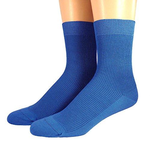 Shimasocks Socken 100prozent Organic, alle Farben, uni, ab Gr. 17/18, Farben alle:royal, Größe:37/38