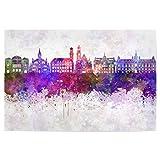 artboxONE Poster 30x20 cm Städte Malmo Skyline in