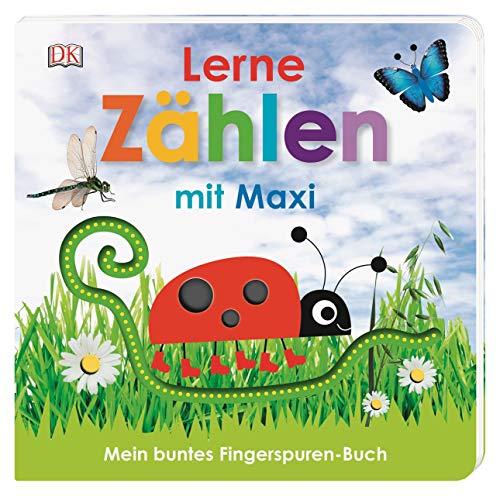 Mein buntes Fingerspuren-Buch. Lerne zählen mit Maxi: Pappbilderbuch mit Fingerspuren ab 18 Monaten