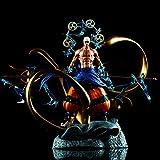 WISHVYQ One Ped Anime Modelo Thor Enel Sculpture Super Muñeca Super Grande Boxed Boxed Versión Escul...