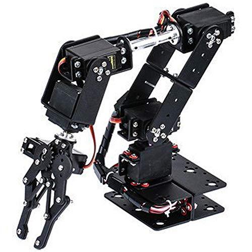 Mechanischer Arm, 6DOF Roboter Mechanischer Arm Klemmklauen Kit DOF Manipulator...