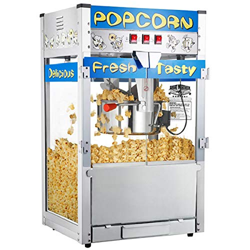 Great Northern 6210 Pop Heaven Commercial Quality Popcorn Popper Machine, 12 Ounce