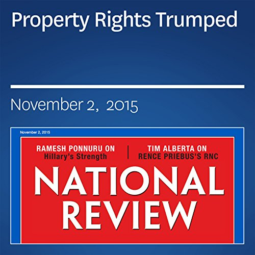 Property Rights Trumped audiobook cover art