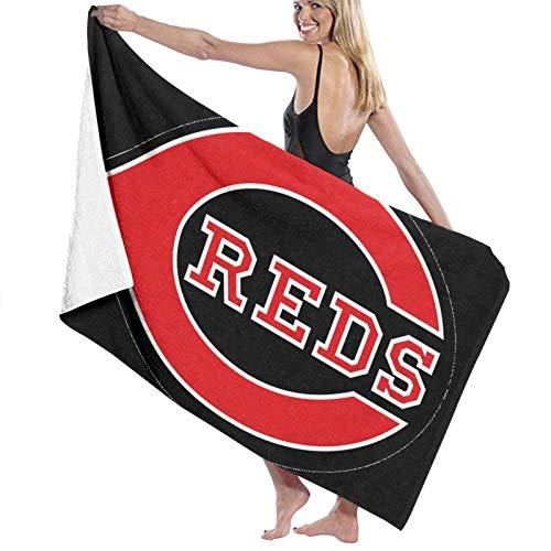 CinCin-nati Reds Towel Super Absorbent Man Woman Teens Bath Towels Multipurpose for Yoga Bath Hotel Gym Spa