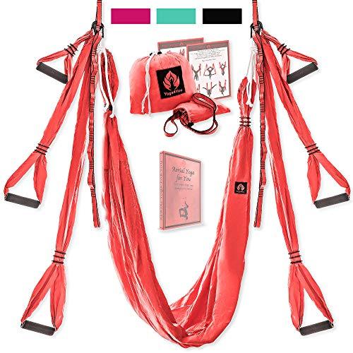 Aerial Yoga Swing Set - Yoga Hammock...