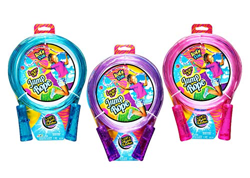 A&J LIGHT UP JUMP ROPE, differs
