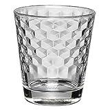 WMF 948642040 Wassergläser Wabenmuster Tumbler Cocktail, Set 4-teilig, 265 ml - 2