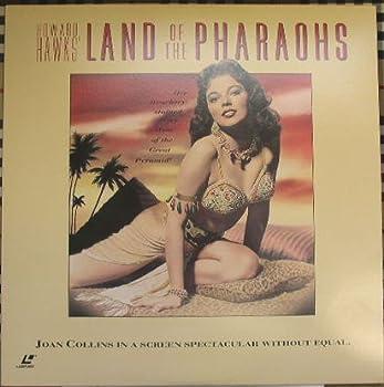 Land of the Pharaohs Widescreen Laserdisc