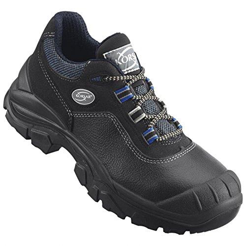 Arbeitsschuh Sicherheitsschuh Schuh Rapid Halbschuh S3 schwarz-blau - Größe 43