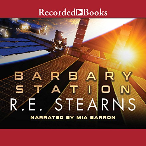 Barbary Station audiobook cover art