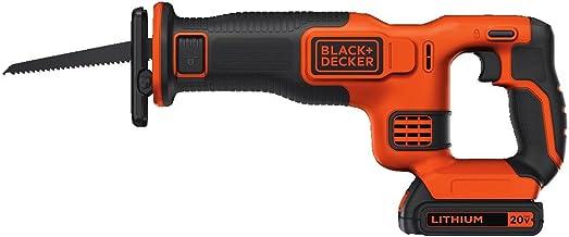 اره ای با سیم باتری و شارژر با استفاده از BLACK + DECKER BDCR20C 20V MAX