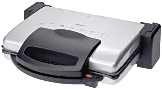 Bosch Contact Grill, 1800 Watt, Silver - TFB3302GB